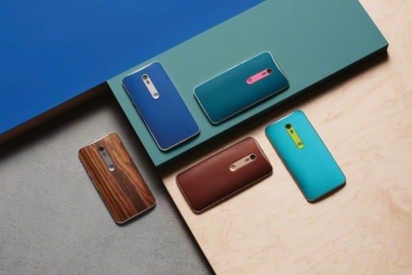 Motorola Moto X Style Colors Backs