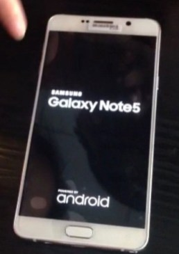Samsung Galaxy Note 5 leak 2