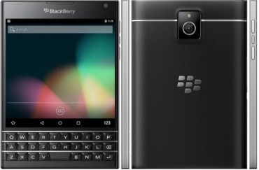 BlackBerry Passport with Android leak