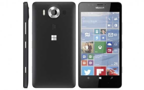 Microsoft Lumia 950 black leak