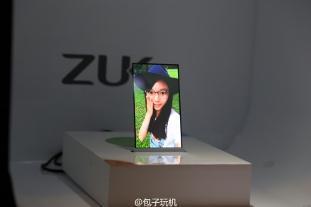 ZUK transparent screen phone prototype 2