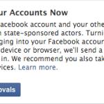 Το Facebook Θα Ενημερώνει Όταν Η Κυβέρνηση Παραβιάζει Λογαριασμούς