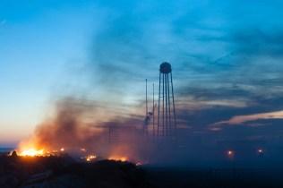 Antares Explosion 5