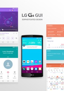LG G4 General User Interface (GUI)