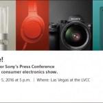 Η Sony Διοργανώνει Νέα Εκδήλωση Στις 5 Ιανουαρίου