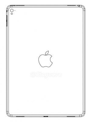 Το φημολογούμενο διάγραμμα του Apple iPad Air 3.