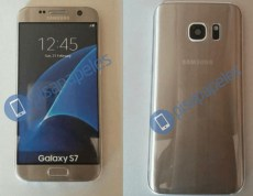 Samsung Galaxy S7 gold dummy leak