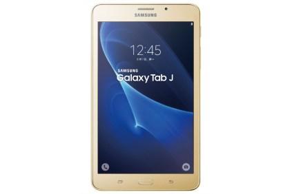 Samsung Galaxy Tab J gold