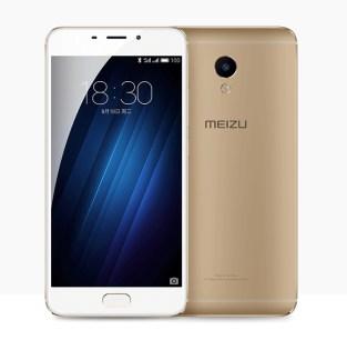 Meizu M3E gold