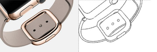 Samsung Apple Watch patent