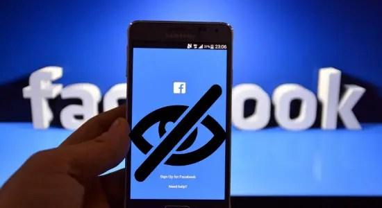 hide facebook posts