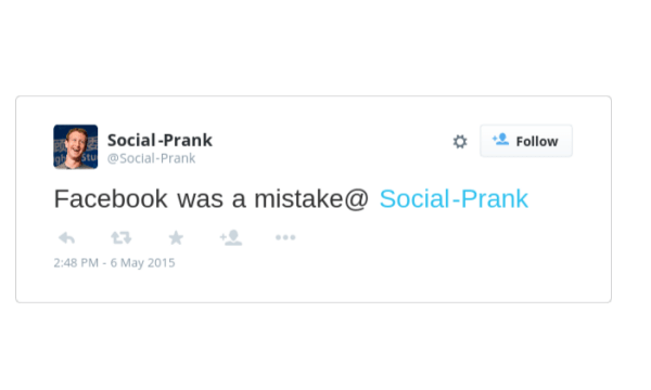 create fake tweet with image