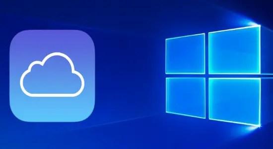 use icloud on windows 10