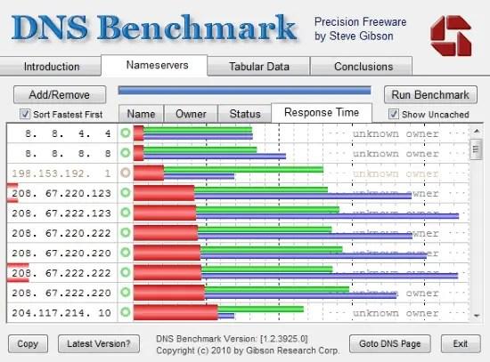 dns benchmarking tool