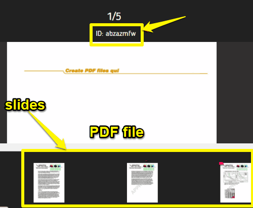 online pdf sharing