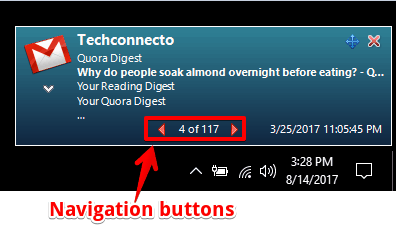 gmail notifier pro notification