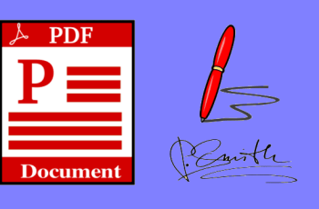 techconnecto.com How to Add Signature to PDF Documents Without any Software