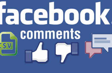 How to Export a Comment Thread of a Facebook Post to Excel, CSV