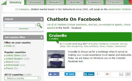 find best facebook messenger bots
