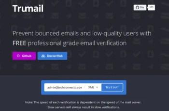 Bulk Verify Email Address using Trumail's Free Verification API