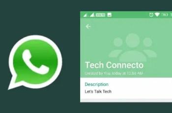 group description in whatsapp