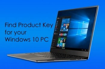 find product key windows 10