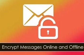 encrypt messages online