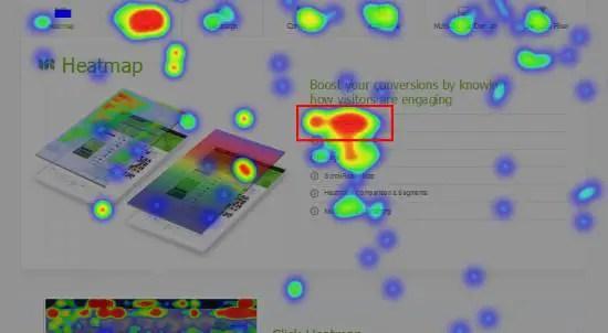 website heatmap generator