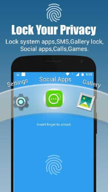 App-Lock, Fingerprint by Sp-Soft