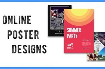 online poster designs
