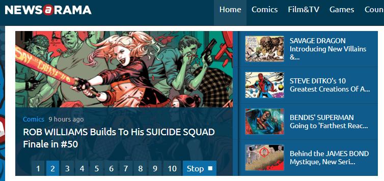 Comic Websites