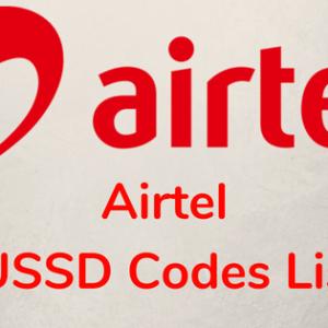 Airtel USSD Codes