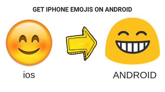 iPhone Emojis on Android