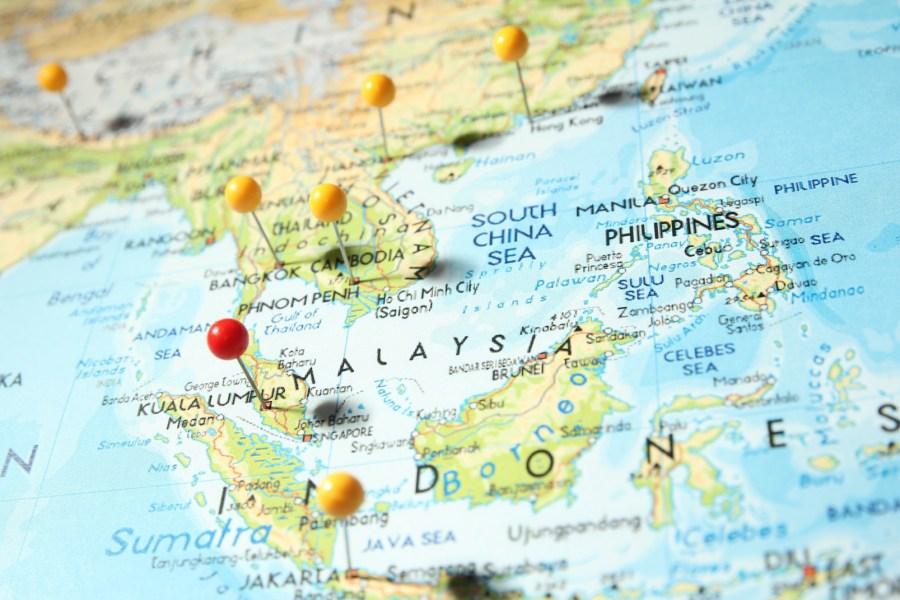 Lost In Translation  IoT Adoption In Southeast Asia In 2015   TechCrunch southeast asia map