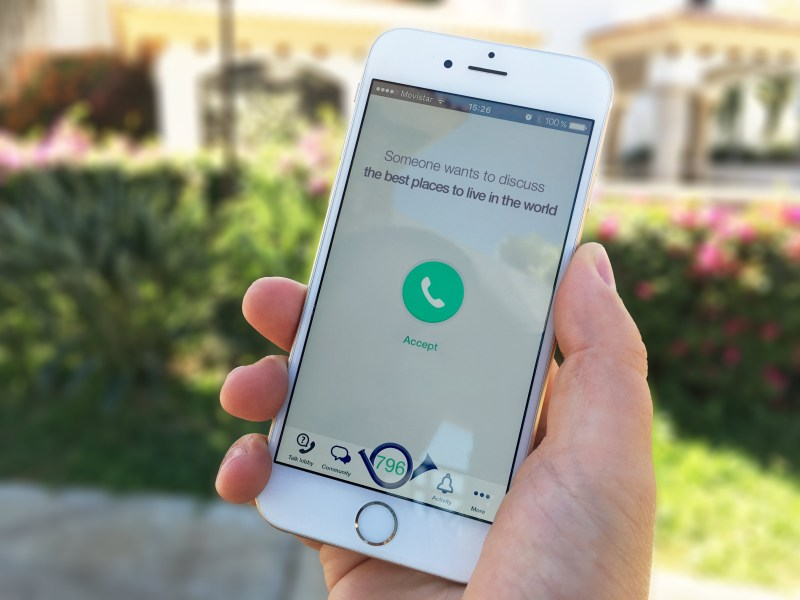 Wakie Pivots To Let You Call A Stranger On Any Subject   TechCrunch Wakie  the  social alarm clock  that lets you be woken up by a complete  stranger  is pivoting the concept to enable you to connect via phone call  on any