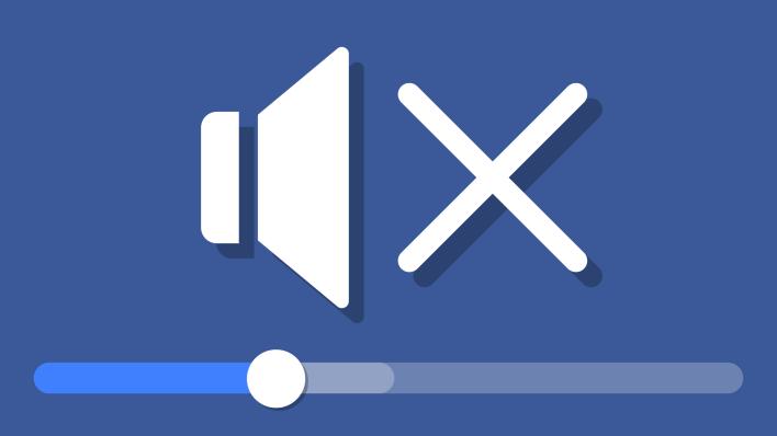 facebook video sound settings