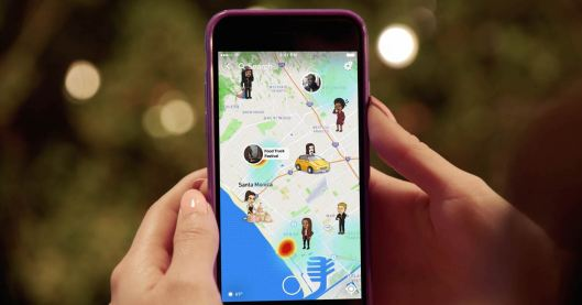 Snapchat launches location-sharing feature Snap Map   TechCrunch