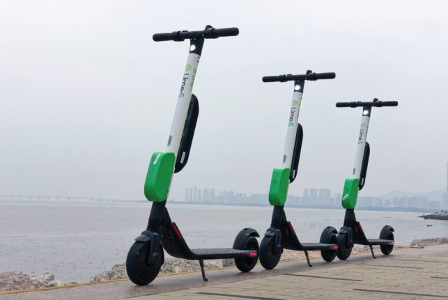 Lime brings electric scooters to LA