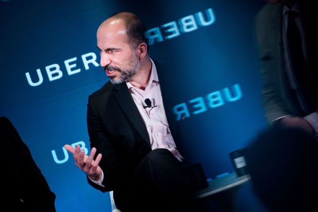 Uber CEO: No plans to sell self-driving car unit 'for now'
