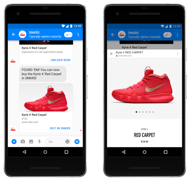 how to search within messenger