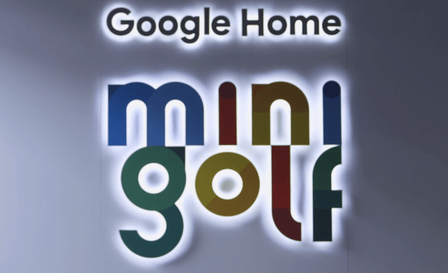 Google is taking a Home-branded putt-putt course on a US tour