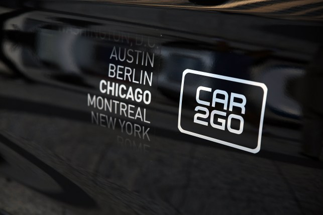 Daimler's car2go car-sharing service adds its first US city in four years