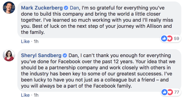 Facebook VP of partnerships Dan Rose is leaving the company