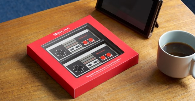Nintendo's NES Switch controllers activate the nostalgia centers (and wallets) of retro gamers