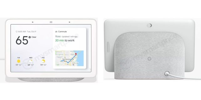 Here's what Google's 9 Home Hub smart display will reportedly look like