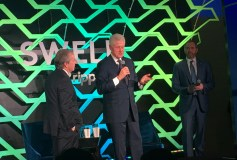 A former U.S. President walks into a blockchain conference…