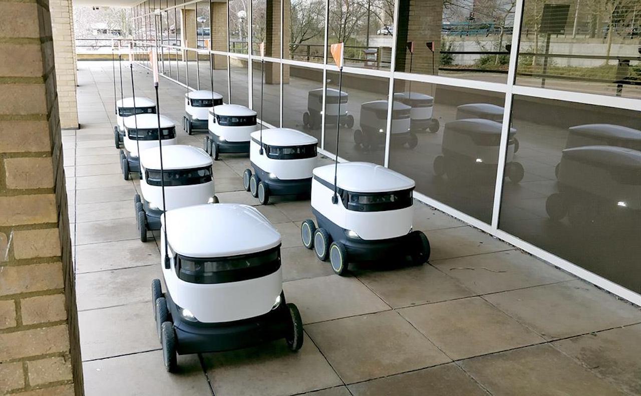 Des Robots livrent déjà des repas dans 5 pays du monde et le Covid-19 accélère cette tendance !
