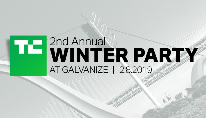 Join TechCrunch for our 2nd Annual Winter Party