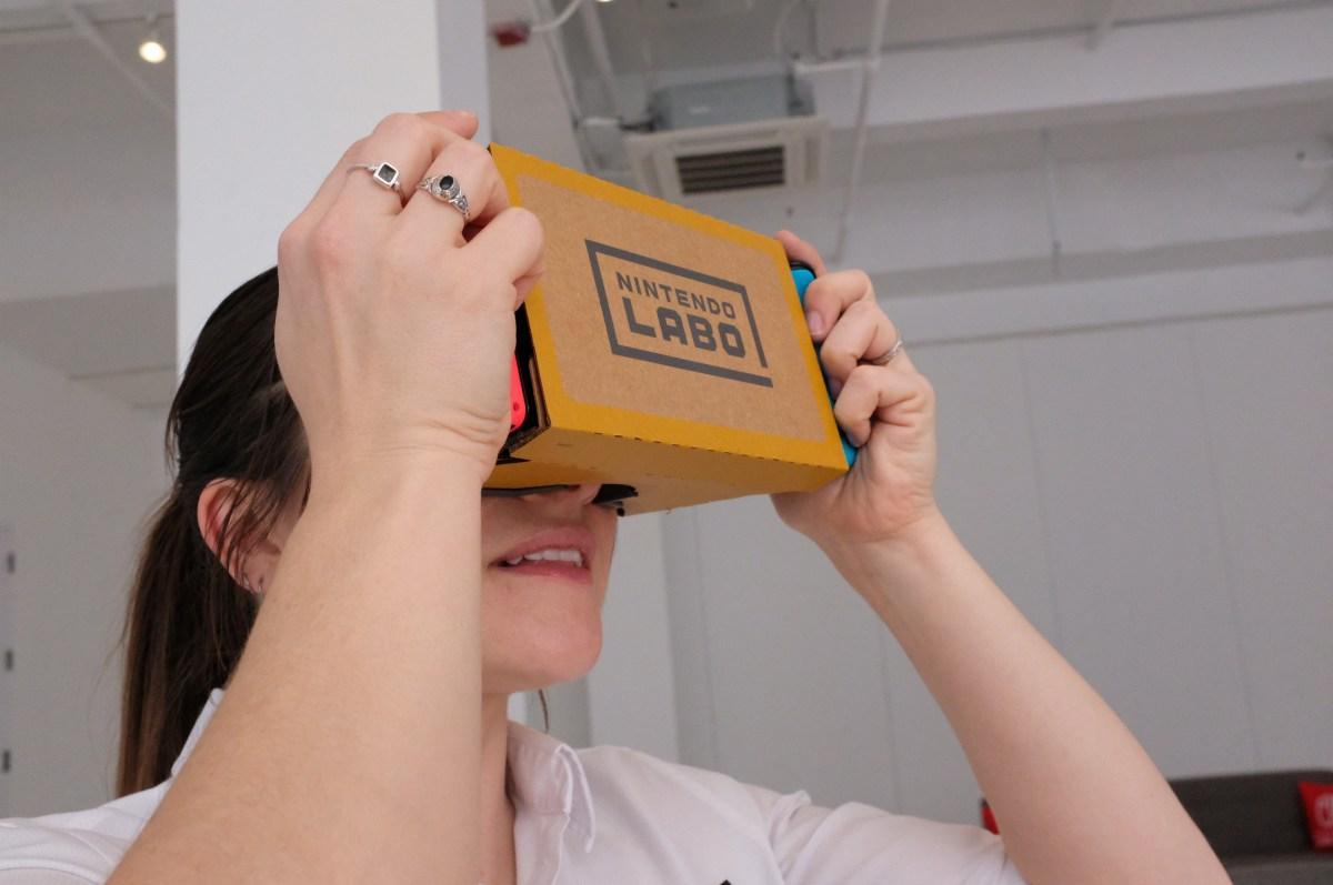 Nintendo's Labo: VR Kit is not Virtual Boy 2.0