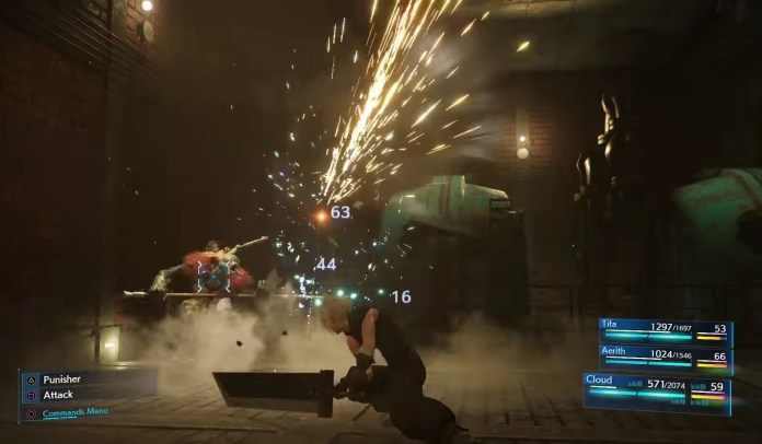 ffVII shot - Final Fantasy VII Remake trailer shows redo of the classic in action